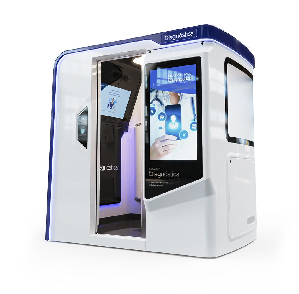 Una empresa rosarina desarrolló una cabina de telemedicina