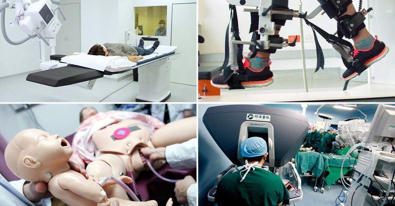 Lejos de reemplazar al médico, la robótica le da una mano